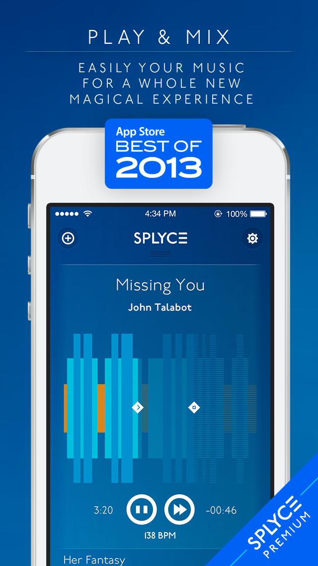 2015年8月19日iPhone/iPadアプリセール ビート音楽プレーヤーアプリ「Splyce Premium」が無料!