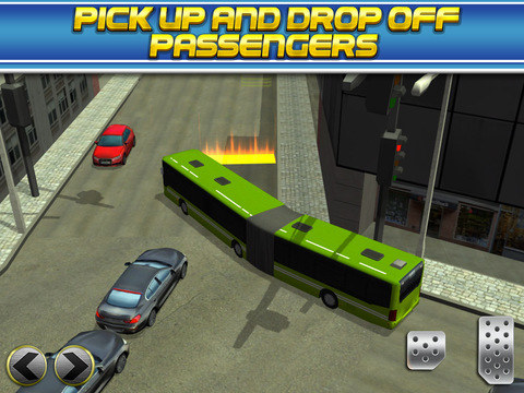 3D Bus Driver Simulator Car Parking Game