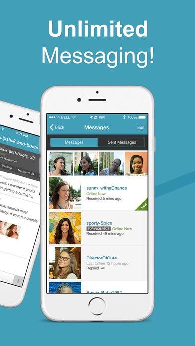 POF - Best Dating App for Conversations Screenshot