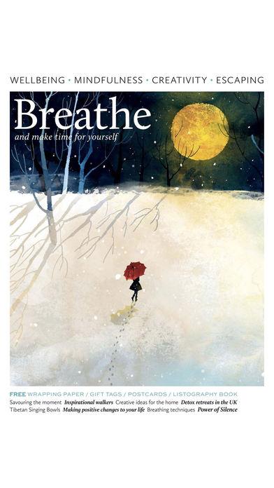 Breathe Magazine. screenshot1