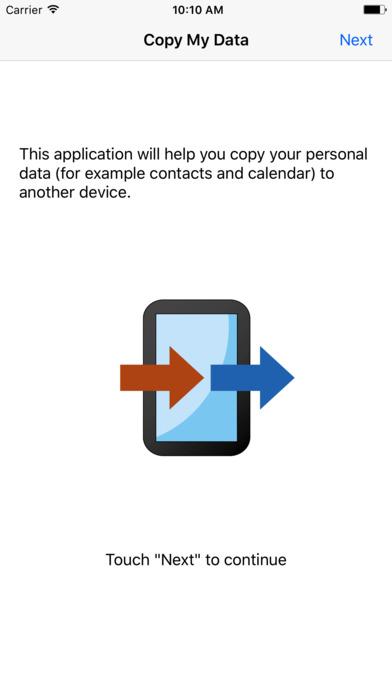 Screenshot for Copy My Data in Japan App Store