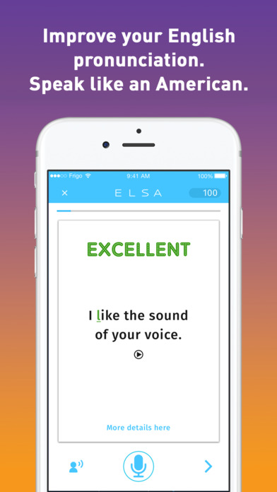ELSA Speak - Practice Speaking English Screenshot