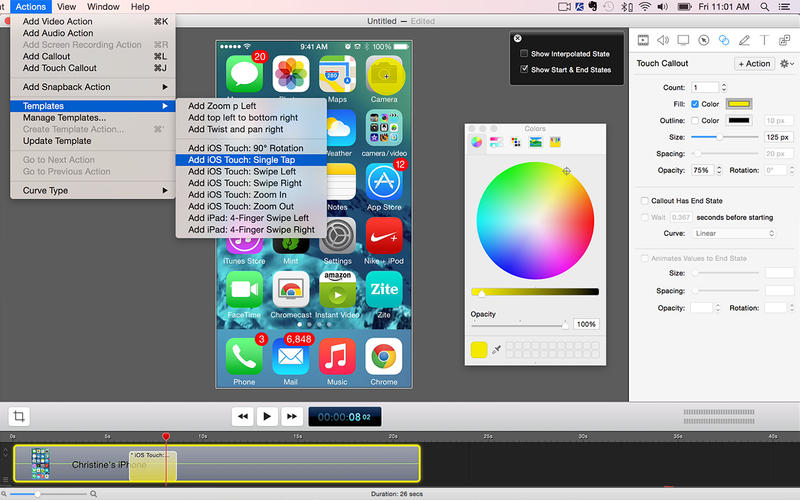 iOSデバイスも録画出来る!ScreenFlow 5 が半額の¥5,000で販売中です