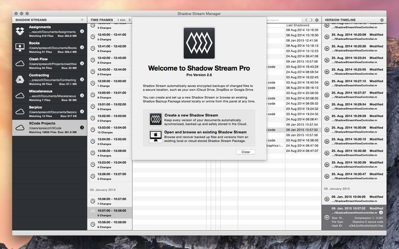 2016年6月8日Macアプリセール データ管理クライアントアプリ「Shadow Stream Pro」が値下げ!