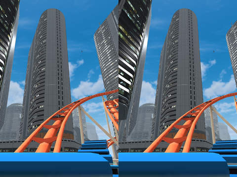 VR Roller Coaster Screenshot