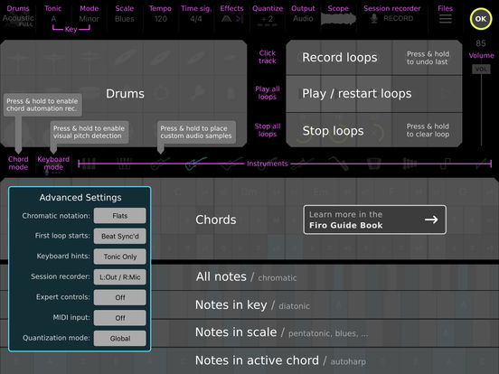 Firo - Music Maker, Instrument, Drums, Chords, Looper, and MIDI Controllerのおすすめ画像3