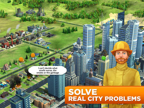 SimCity BuildIt iPhone iPad