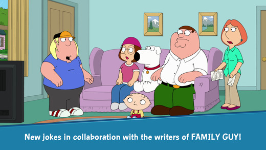 Family Guy: The Quest for Stuff Screenshots
