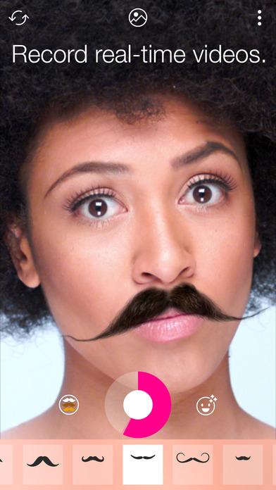 Stacheify - Mustache face app Screenshots