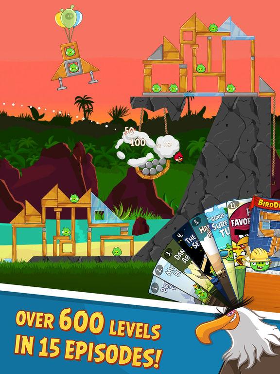 Angry Birds HD Screenshots