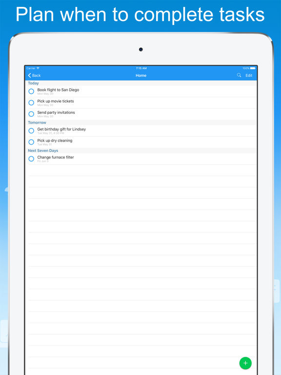 Todo Cloud: To-Do List and Task Manager Screenshots