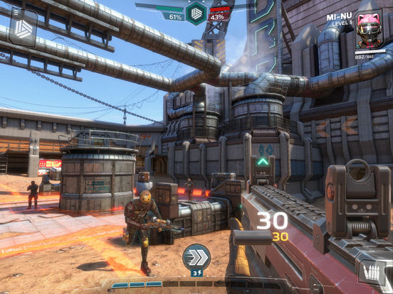 Screenshot 1 Modern Combat Versus: Online Multiplayer FPS