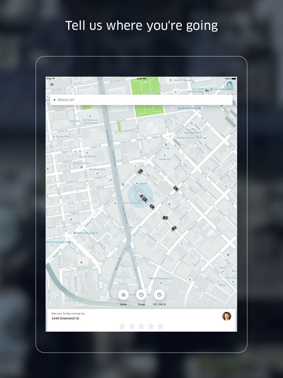 Uber - Your alternative to a taxi, cab, or rental Screenshots