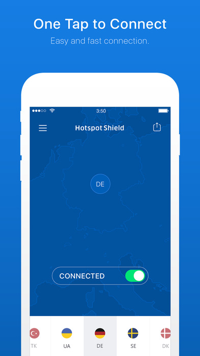 Hotspot Shield Free Privacy & Security VPN Proxy Screenshots