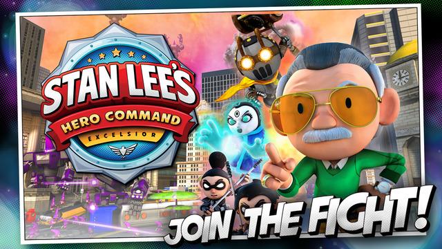 Stan Lee's Hero Command for iPhone/iPad Versija : 1.0