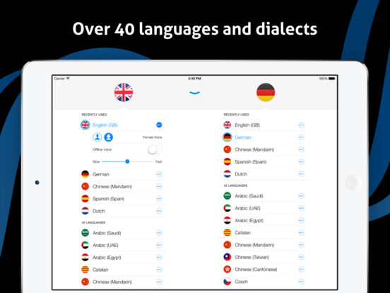 iTranslate Voice Free - Speak & Translate Screenshots