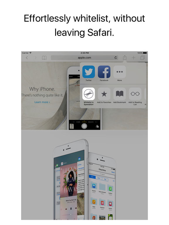 Speedafari – Speed Up Safari on Slow Connections Screenshots