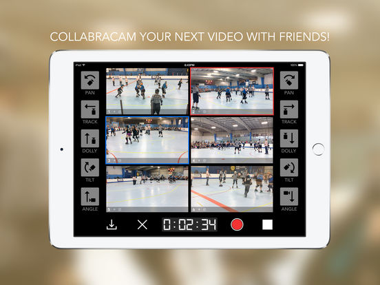 CollabraCam™: Multicam Social Video Production Screenshots