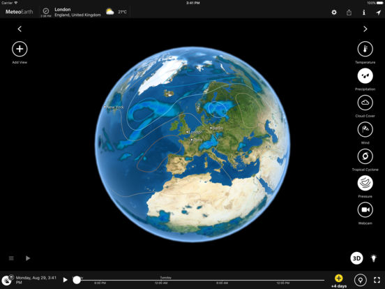 MeteoEarth Screenshots