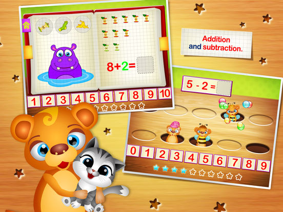 123 Kids Fun NUMBERS - Top Educational Math Games Screenshots