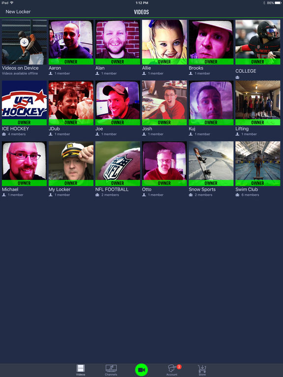 Coach's Eye - Video Analysis Screenshots