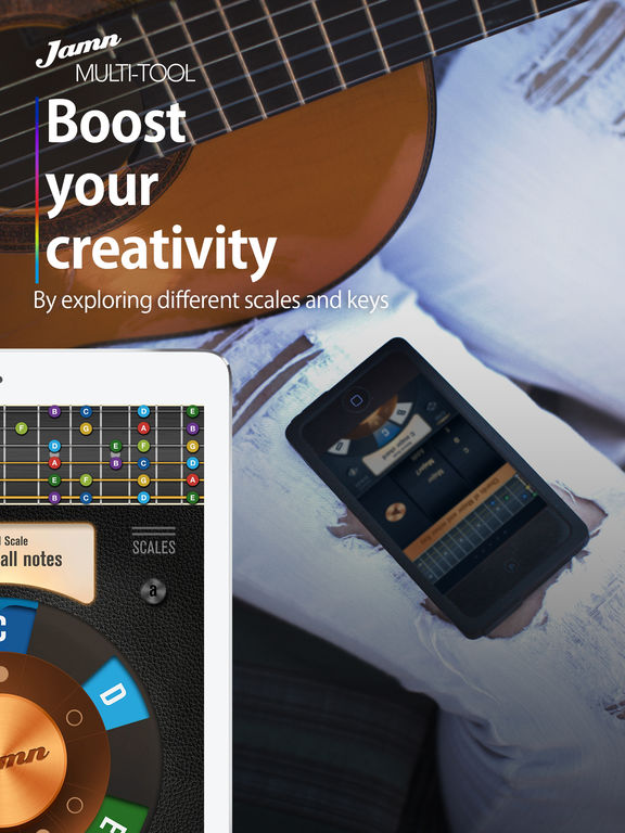 Jamn Multi-tool: Visualize music theory Screenshots