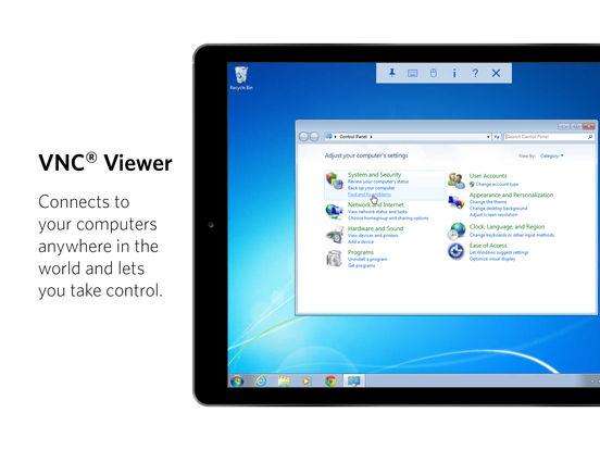 VNC Viewer Screenshots