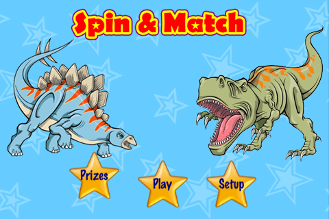 Image of A Dinosaur Spin & Match Free Lite - Kids Picture Memory Cards
