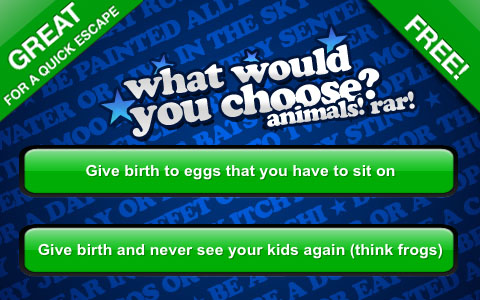 What Would You Choose? Party Game