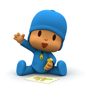 Coloring with Pocoyo and Friends, for iPhone icon