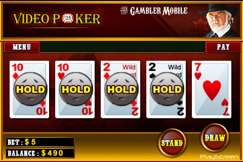 Kenny Rogers Video Poker