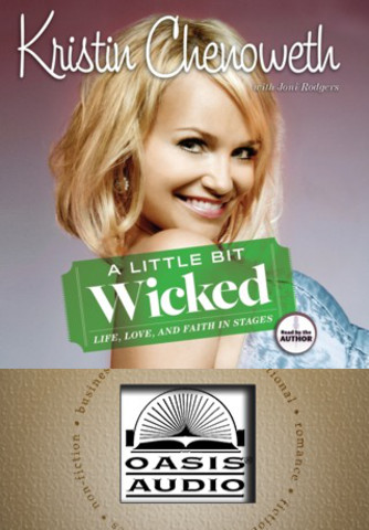 A Little Bit Wicked (by Kristin Chenoweth and Joni Rodgers) iPhone Screenshot 1