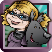 Violet and the Mysterious Black Dog - Interactive Children's Storybook