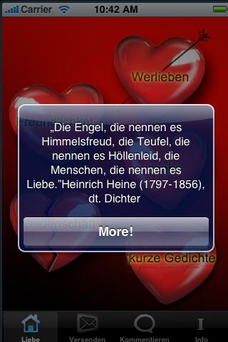 More apps related liebe zitate sprüche liebe