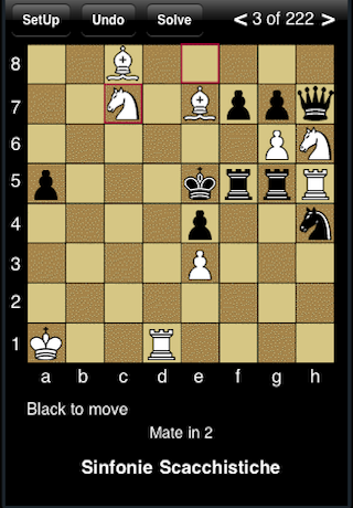 Chess - Mate Solver