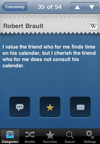 Quotes for Facebook - The 1 Quotes App for iPhone