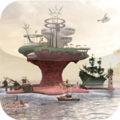 Gorillaz &#8211; Escape to Plastic Beach Review icon