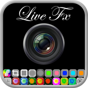 Live FX (create your own, shareable photo effects, preview them live in camera view) icon