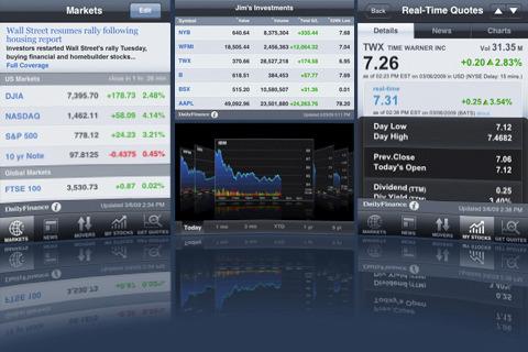 DailyFinance - Stock Quotes and Business News free app screenshot 1