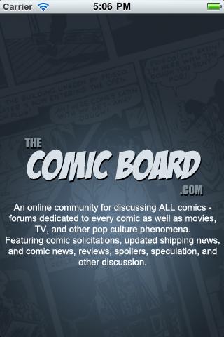 The Comic Board free app screenshot 1