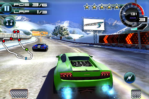 Asphalt 5 screenshot 1