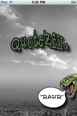 Quotezilla - the monster of all quote apps, over 80,000 amazing quotes free app screenshot 1