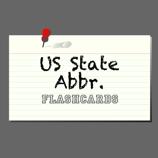 Flash US State Abbreviations