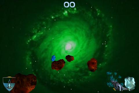3D Asteroid Wars Lite free app screenshot 1