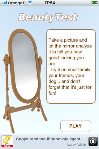 BeautyTest free app screenshot 1
