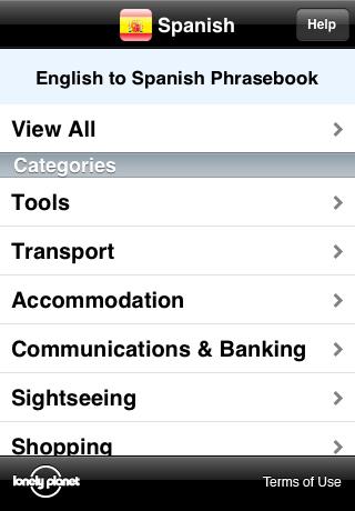 Lonely Planet Spanish Phrasebook