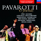 Pavarotti & Friends, Aaron Neville