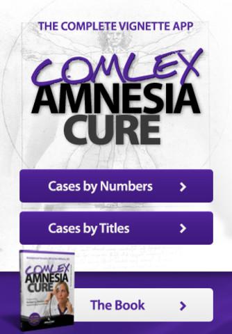 COMLEX Amnesia Cure iPhone Screenshot 1