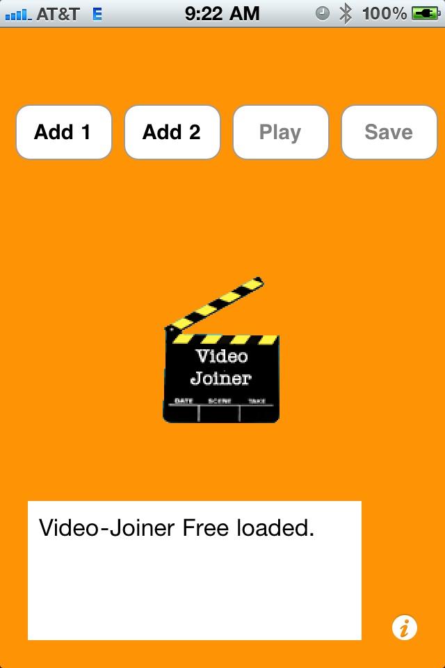 Video-Joiner Free free app screenshot 1