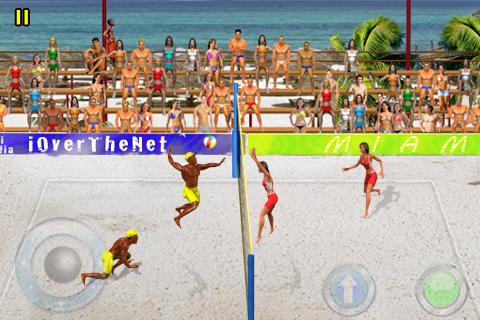 iOverTheNet Beach Volley Lite free app screenshot 1